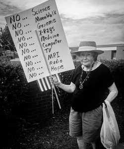 Protest Lady