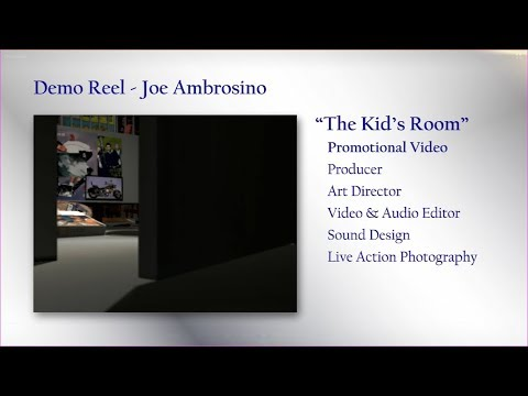 Joe Ambrosino Demo Reel